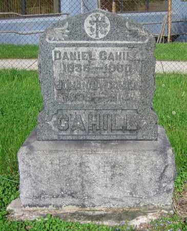 CAHILL, JOHANNA - Clark County, Ohio | JOHANNA CAHILL - Ohio Gravestone Photos