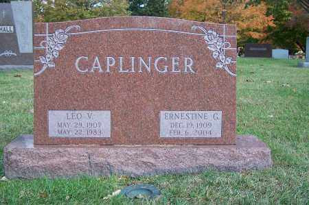 GLADDEN CAPLINGER, ERNESTINE - Clark County, Ohio | ERNESTINE GLADDEN CAPLINGER - Ohio Gravestone Photos