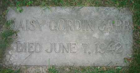 CARR, DAISY GORDIN - Clark County, Ohio | DAISY GORDIN CARR - Ohio Gravestone Photos
