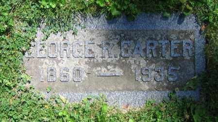CARTER, GEORGE R. - Clark County, Ohio | GEORGE R. CARTER - Ohio Gravestone Photos