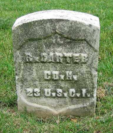 CARTER, R. - Clark County, Ohio | R. CARTER - Ohio Gravestone Photos
