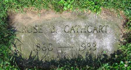 CATHCART, ROSE B. - Clark County, Ohio | ROSE B. CATHCART - Ohio Gravestone Photos