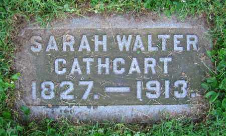 WALTER CATHCART, SARAH - Clark County, Ohio | SARAH WALTER CATHCART - Ohio Gravestone Photos