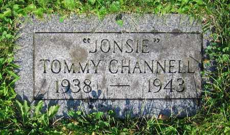 CHANNELL, TOMMY - Clark County, Ohio | TOMMY CHANNELL - Ohio Gravestone Photos