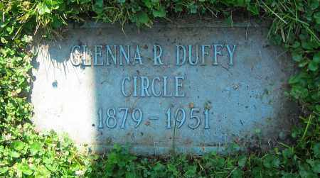 DUFFY CIRCLE, GLENNA R. - Clark County, Ohio | GLENNA R. DUFFY CIRCLE - Ohio Gravestone Photos