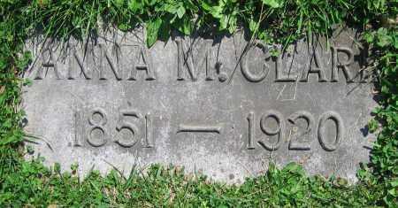 CLARK, ANNA M. - Clark County, Ohio | ANNA M. CLARK - Ohio Gravestone Photos