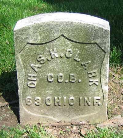 CLARK, CHAS. H. - Clark County, Ohio | CHAS. H. CLARK - Ohio Gravestone Photos