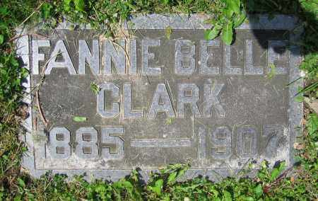 CLARK, FANNIE BELLE - Clark County, Ohio | FANNIE BELLE CLARK - Ohio Gravestone Photos