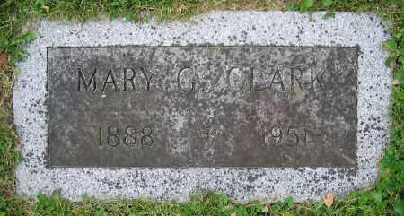 CLARK, MARY G. - Clark County, Ohio | MARY G. CLARK - Ohio Gravestone Photos