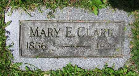 CLARK, MARY E. - Clark County, Ohio | MARY E. CLARK - Ohio Gravestone Photos