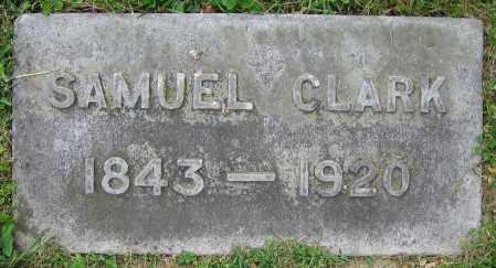 CLARK, SAMUEL - Clark County, Ohio | SAMUEL CLARK - Ohio Gravestone Photos
