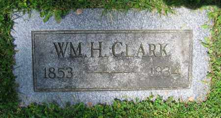 CLARK, WM. H. - Clark County, Ohio | WM. H. CLARK - Ohio Gravestone Photos