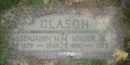 CLASON, MAUDE M. - Clark County, Ohio | MAUDE M. CLASON - Ohio Gravestone Photos