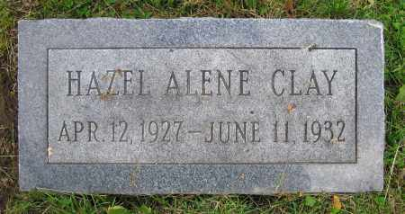 CLAY, HAZEL ALENE - Clark County, Ohio | HAZEL ALENE CLAY - Ohio Gravestone Photos