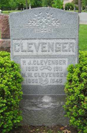 CLEVENGER, P.J. - Clark County, Ohio | P.J. CLEVENGER - Ohio Gravestone Photos