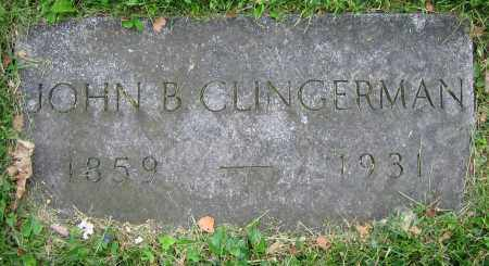 CLINGERMAN, JOHN B. - Clark County, Ohio | JOHN B. CLINGERMAN - Ohio Gravestone Photos