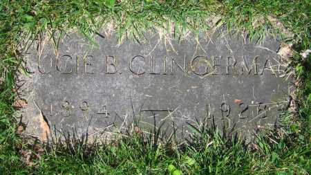 CLINGERMAN, LUCIE B. - Clark County, Ohio | LUCIE B. CLINGERMAN - Ohio Gravestone Photos