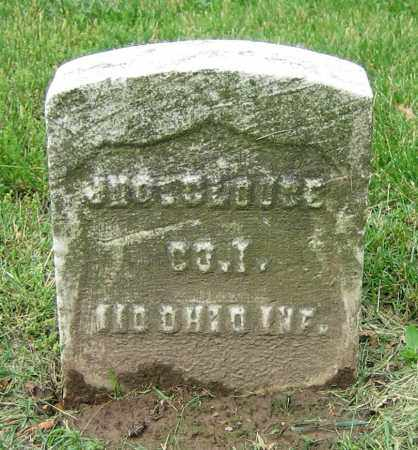 CLOUCE, JNO. - Clark County, Ohio | JNO. CLOUCE - Ohio Gravestone Photos