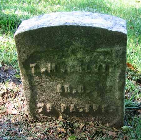COLVIN, T.M. - Clark County, Ohio | T.M. COLVIN - Ohio Gravestone Photos