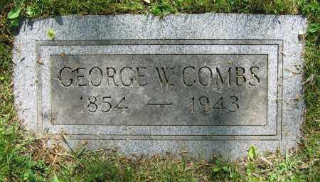 COMBS, GEORGE W. - Clark County, Ohio | GEORGE W. COMBS - Ohio Gravestone Photos