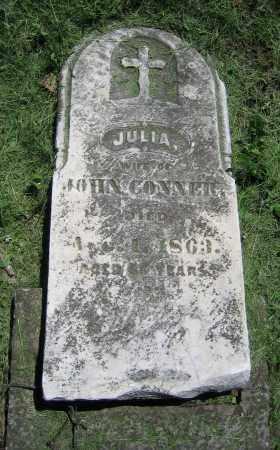 CONNER, JULIA - Clark County, Ohio | JULIA CONNER - Ohio Gravestone Photos
