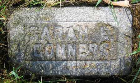 CONNERS, SARAH E. - Clark County, Ohio | SARAH E. CONNERS - Ohio Gravestone Photos