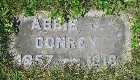 CONREY, ABBIE J. - Clark County, Ohio | ABBIE J. CONREY - Ohio Gravestone Photos