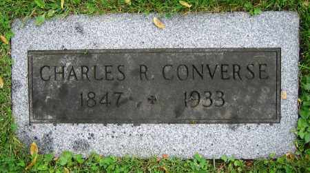 CONVERSE, CHARLES R. - Clark County, Ohio | CHARLES R. CONVERSE - Ohio Gravestone Photos