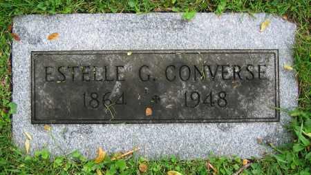 CONVERSE, ESTELLE G. - Clark County, Ohio | ESTELLE G. CONVERSE - Ohio Gravestone Photos