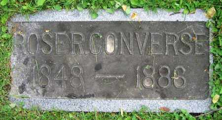 CONVERSE, ROSE R. - Clark County, Ohio | ROSE R. CONVERSE - Ohio Gravestone Photos
