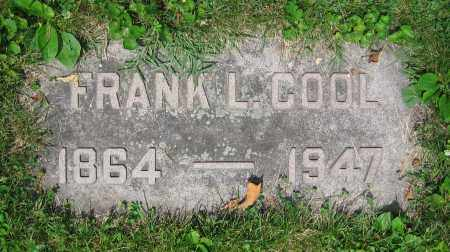 COOL, FRANK L. - Clark County, Ohio | FRANK L. COOL - Ohio Gravestone Photos