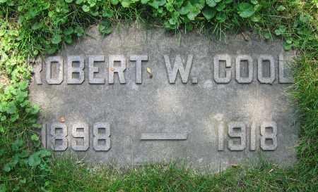 COOL, ROBERT W. - Clark County, Ohio | ROBERT W. COOL - Ohio Gravestone Photos