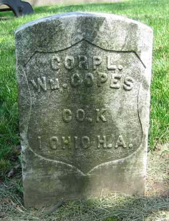COPES, WM. - Clark County, Ohio | WM. COPES - Ohio Gravestone Photos