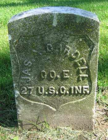 CORDELL, JAS. A. - Clark County, Ohio | JAS. A. CORDELL - Ohio Gravestone Photos