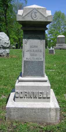 CORNWELL, HENRY O. - Clark County, Ohio | HENRY O. CORNWELL - Ohio Gravestone Photos