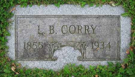 CORRY, L.B. - Clark County, Ohio | L.B. CORRY - Ohio Gravestone Photos