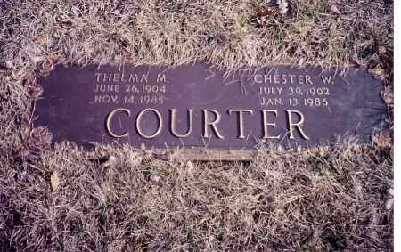 COURTER, THELMA M. - Clark County, Ohio | THELMA M. COURTER - Ohio Gravestone Photos