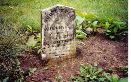 COURTER, WILLIAM H. - Clark County, Ohio   WILLIAM H. COURTER - Ohio Gravestone Photos