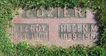 COZIER, A. LEROY - Clark County, Ohio | A. LEROY COZIER - Ohio Gravestone Photos