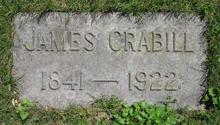 CRABILL, JAMES - Clark County, Ohio | JAMES CRABILL - Ohio Gravestone Photos