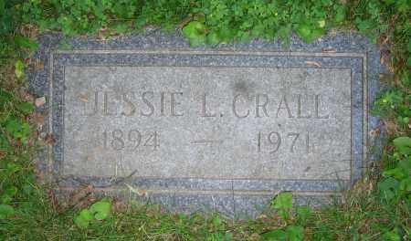 CRALL, JESSIE L. - Clark County, Ohio | JESSIE L. CRALL - Ohio Gravestone Photos