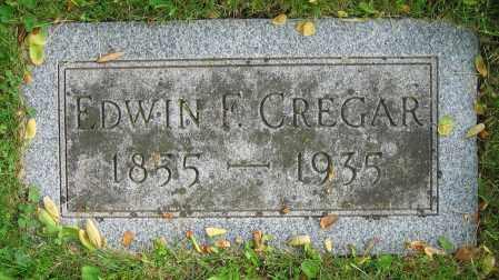 CREGAR, EDWIN F. - Clark County, Ohio | EDWIN F. CREGAR - Ohio Gravestone Photos