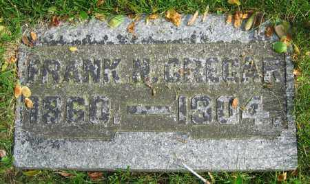 CREGAR, FRANK N. - Clark County, Ohio | FRANK N. CREGAR - Ohio Gravestone Photos