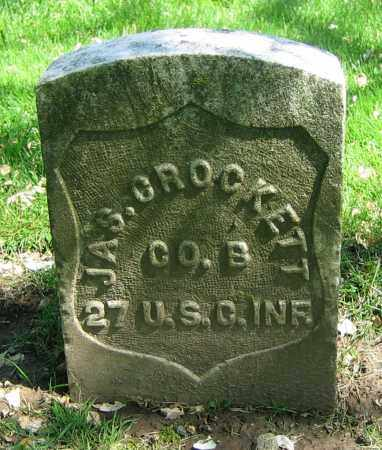 CROCKETT, JAS. - Clark County, Ohio | JAS. CROCKETT - Ohio Gravestone Photos