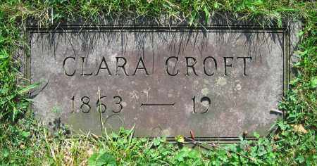 CROFT, CLARA - Clark County, Ohio | CLARA CROFT - Ohio Gravestone Photos
