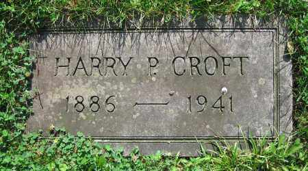 CROFT, HARRY P. - Clark County, Ohio | HARRY P. CROFT - Ohio Gravestone Photos