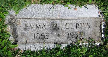 CURTIS, EMMA M. - Clark County, Ohio | EMMA M. CURTIS - Ohio Gravestone Photos