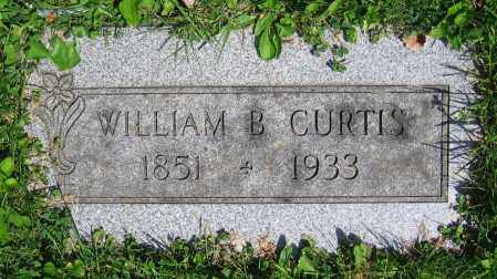 CURTIS, WILLIAM B. - Clark County, Ohio | WILLIAM B. CURTIS - Ohio Gravestone Photos