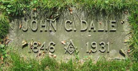DALIE, JOHN G. - Clark County, Ohio | JOHN G. DALIE - Ohio Gravestone Photos