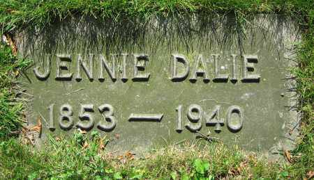 DALIE, JENNIE - Clark County, Ohio | JENNIE DALIE - Ohio Gravestone Photos